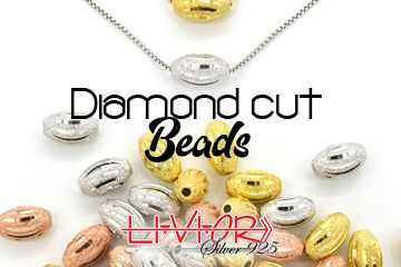 Diamond cut beads collection