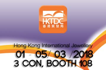 Hong Kong jewellery fair Marzo 2018